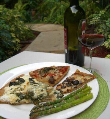 Ultra Healthy Whole Wheat Pizza Recipe