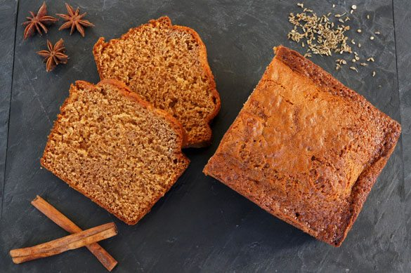 healthy gingerbread spice cake