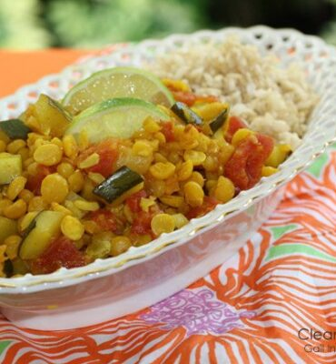 Easy Indian Recipe: Healthy Lentil Dal Recipe with Zucchini