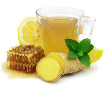 Soothing Ginger Lemon Honey Tea