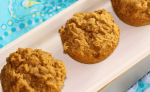 clean eating peanut butter banana muffins for kids