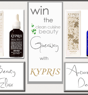 $285 Giveaway from KYPRIS Organic Beauty!