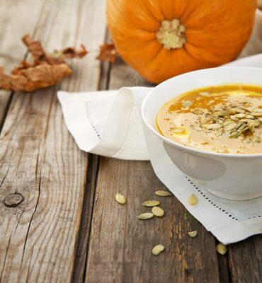 Super Easy Pumpkin Soup Recipe with Chipotle