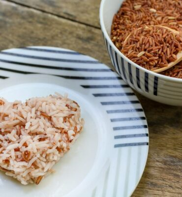 healthy living brown rice