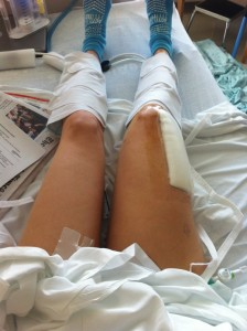 recovering at the hospital for special surgery