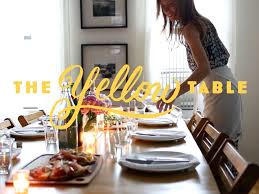 the yellow table blog