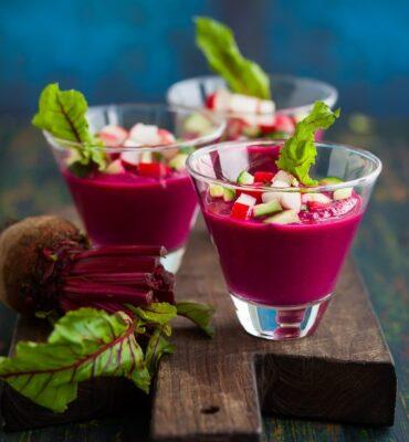 Detoxifying Recipe for Beet Soup Gazpacho