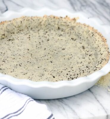 Savory Gluten Free Pie Crust Recipe with Chia Seeds