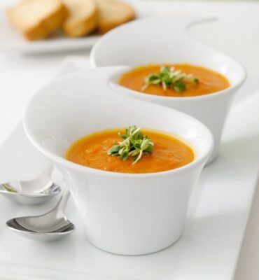 Carrot Soup Recipe with Apples