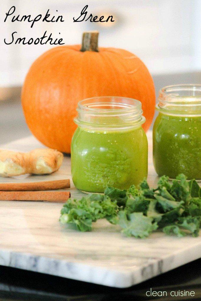 Pumpkin Green Smoothie