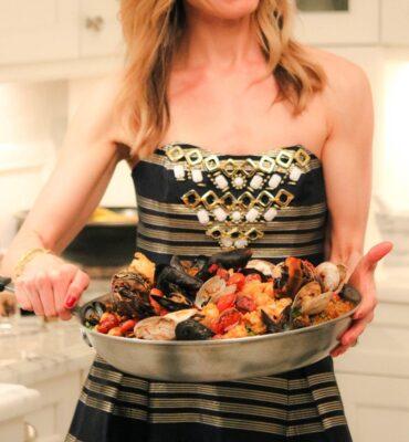 healthy living Seafood Paella Recipe