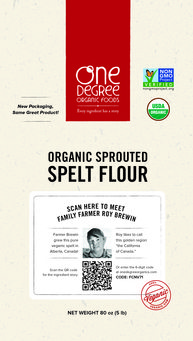 One Degree Sprouted Spelt Flour