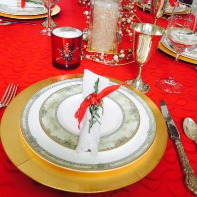 Clean Cuisine Christmas Dinner Menu