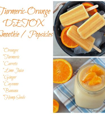Turmeric-Orange Detox Smoothie (or Popsicle) Recipe