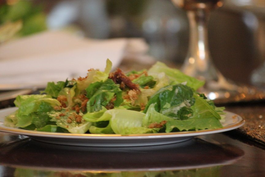 how to make caesar salad recipe