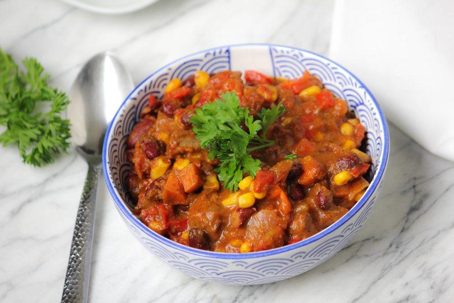 Clean Cuisine Crock Pot Chili Recipe