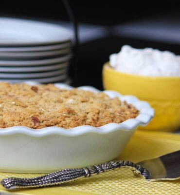 Gluten Free CLEAN Recipe for Peach Cobbler