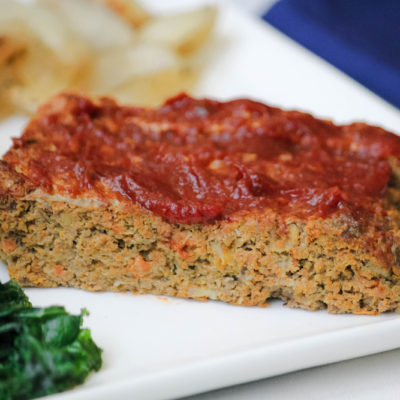 Healthy Turkey Meatloaf Recipe (with LOTS of Hidden Vegetables)