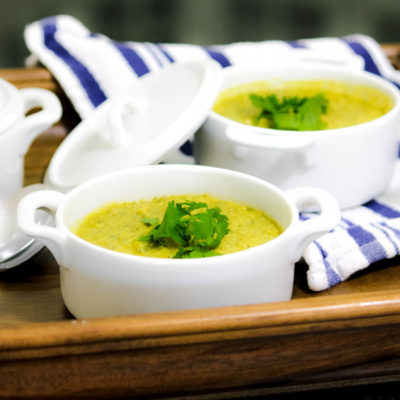 Savory All Green Soup Recipe (A Green Smoothie Alternative!)