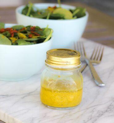 Anti-Inflammatory Turmeric Recipe for Salad Dressing