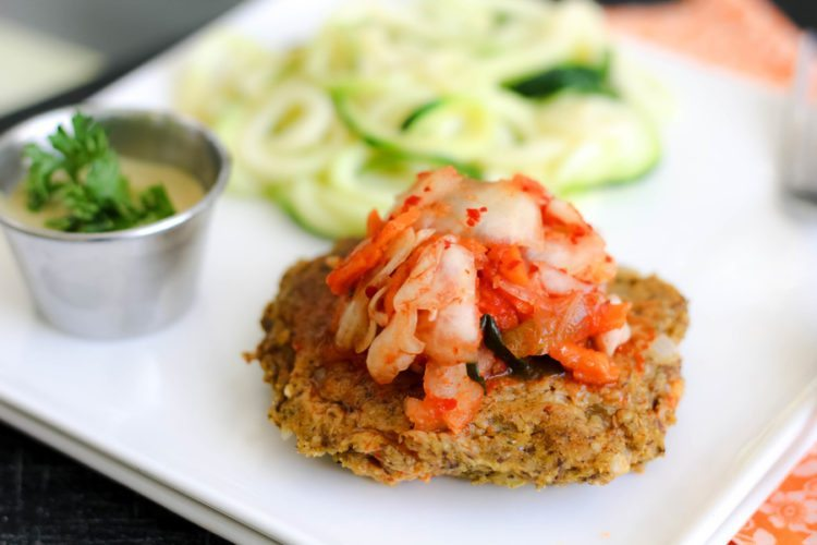 Zucchini and White Bean Burger Recipe