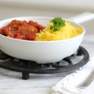 Recipe for Chicken Cacciatore (with Extra Vegetables)