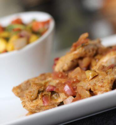 Easier Jamaican Jerk Chicken Recipe with Mango Salsa