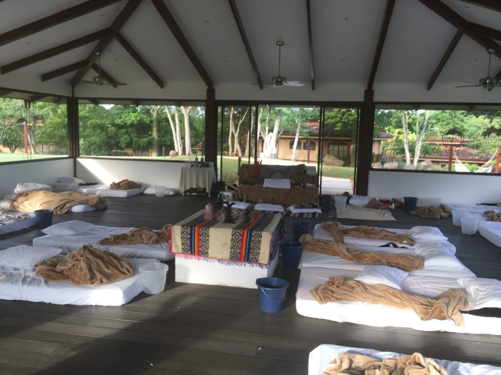 after the ayahuasca ceremony
