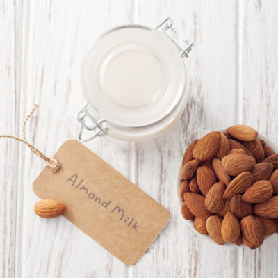 "Health Benefits of Almond Milk + Why ""Whole"" Almond Milk Is Best"