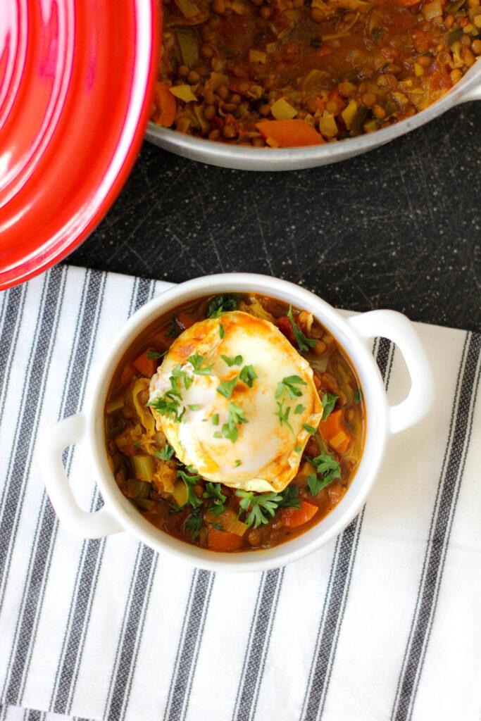 Lentil Stew with Vegetables