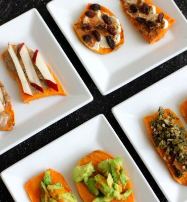 How to Make Sweet Potato Toast Appetizers