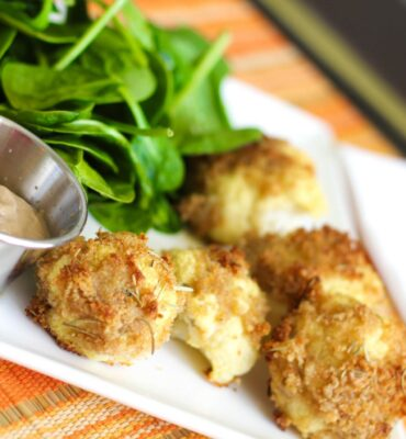Dairy Free and Gluten Free Cauliflower Tots