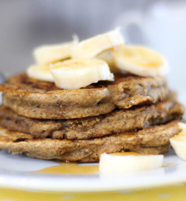 Wheat Free Fluffy Banana Pancake Recipe