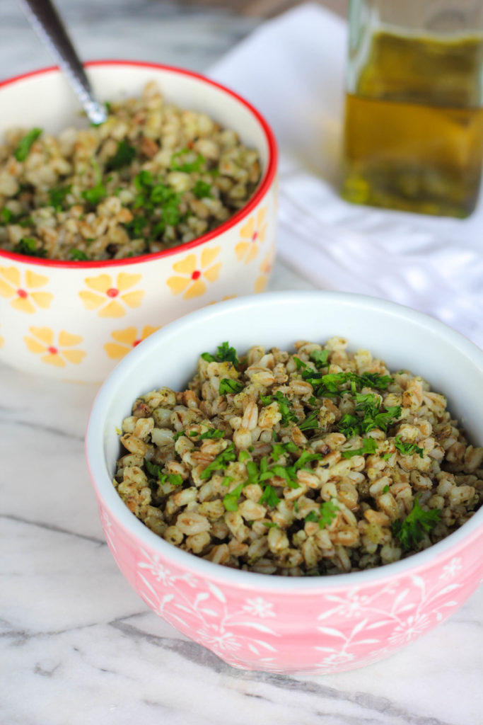 easy farro salad recipe