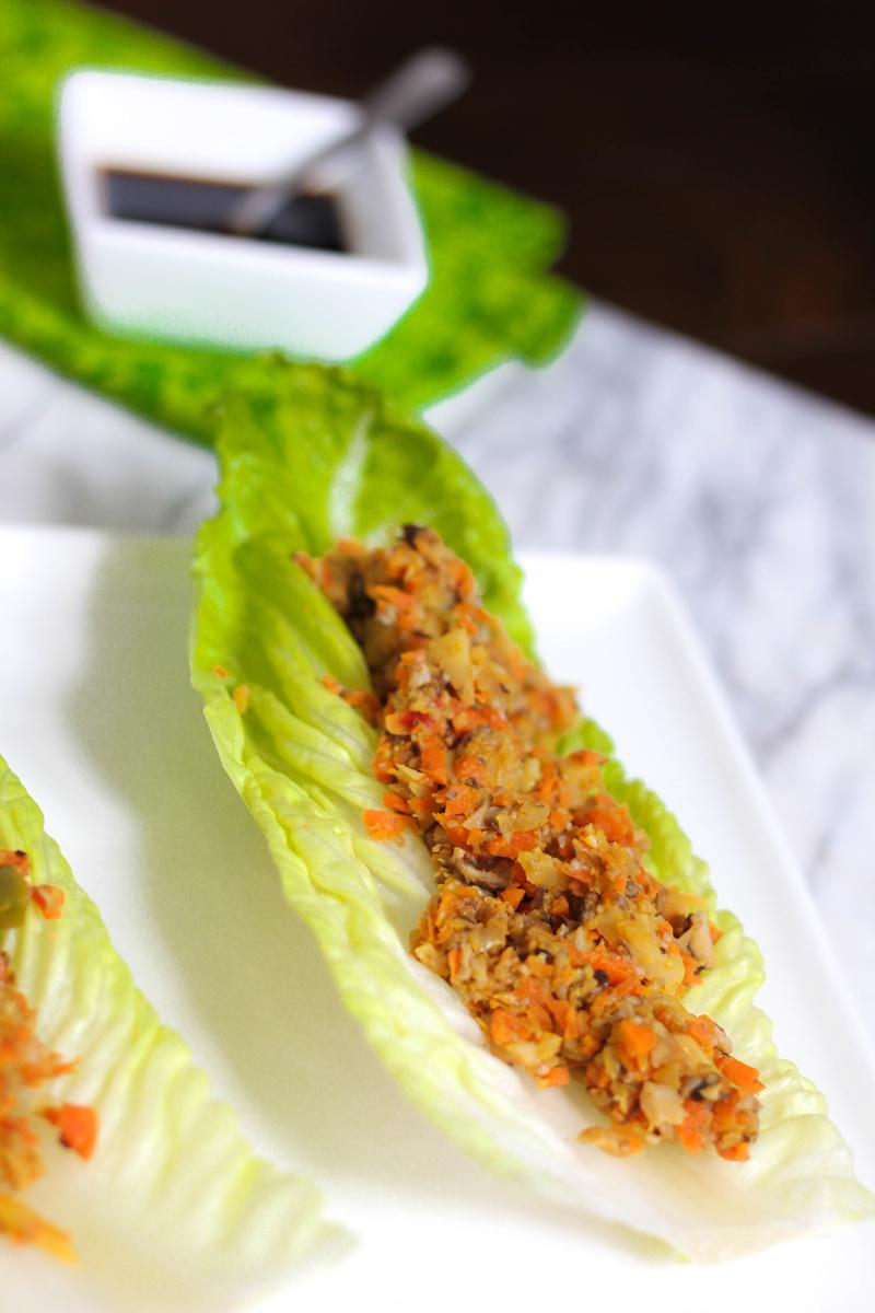Mushroom Lettuce Wraps 2