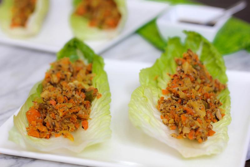Shitake Mushroom Lettuce Wraps
