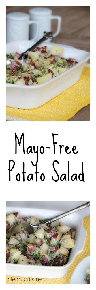 Mayo Free Potato Salad Recipe