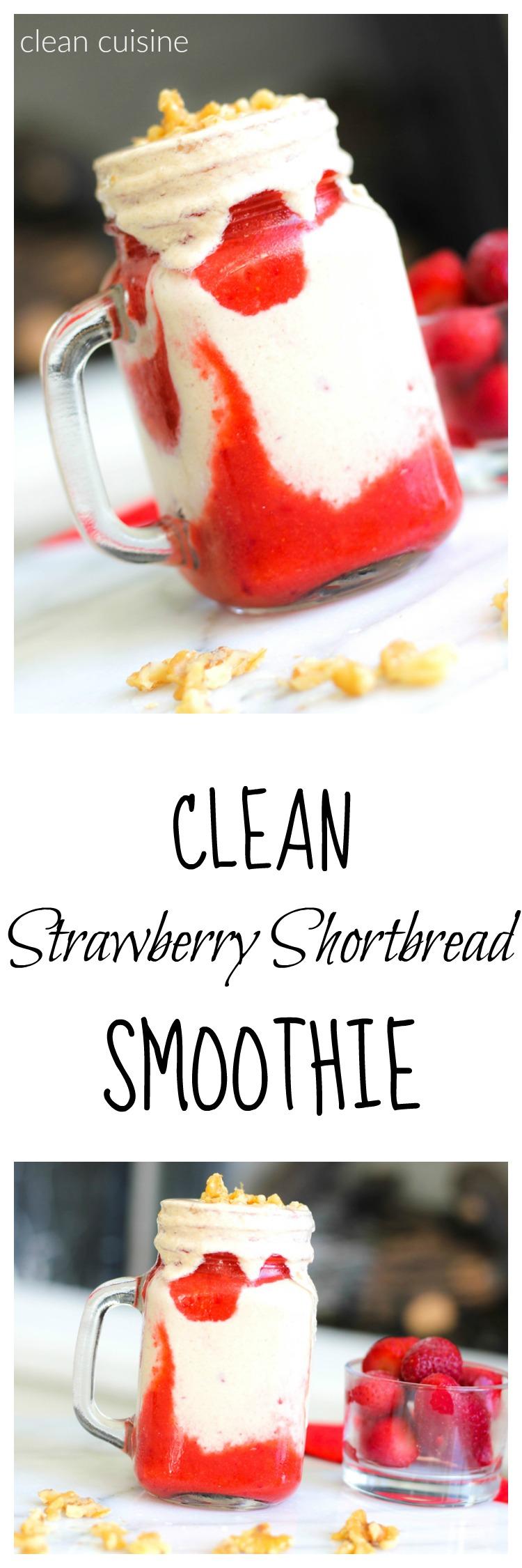 Strawberry Shortbread Smoothie
