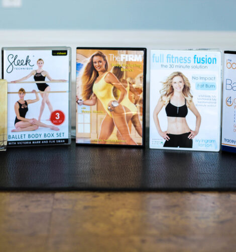 Over 40 Workout DVD's
