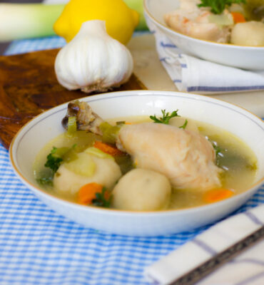 Recipe for the Best Gluten Free Chicken and Dumplings
