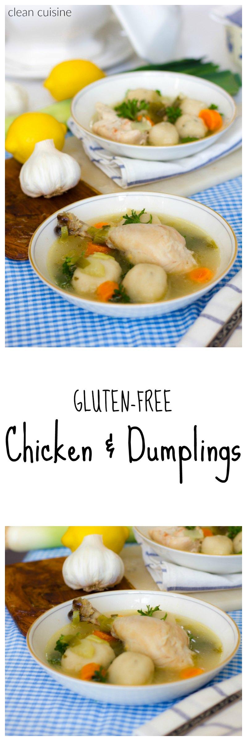 Gluten Free Chicken and Dumplings