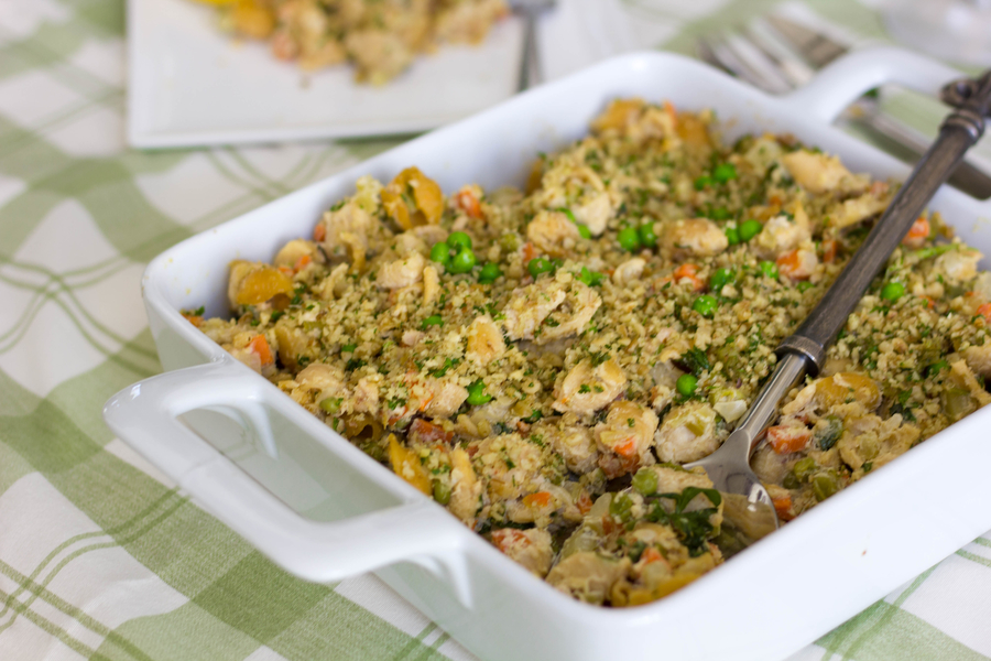 Salmon casserole recipe