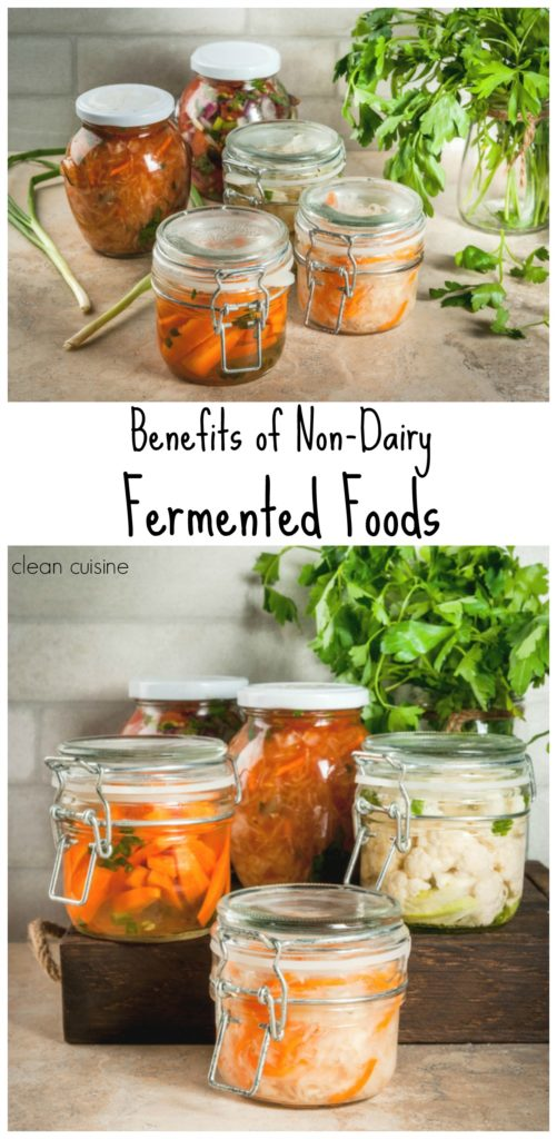 Benefits of Non Dairy Fermented Foods