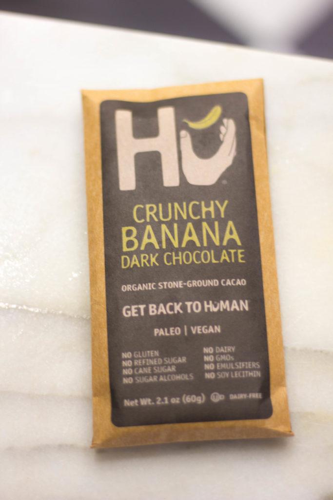 Hu Crunchy Banana Dark Chocolate