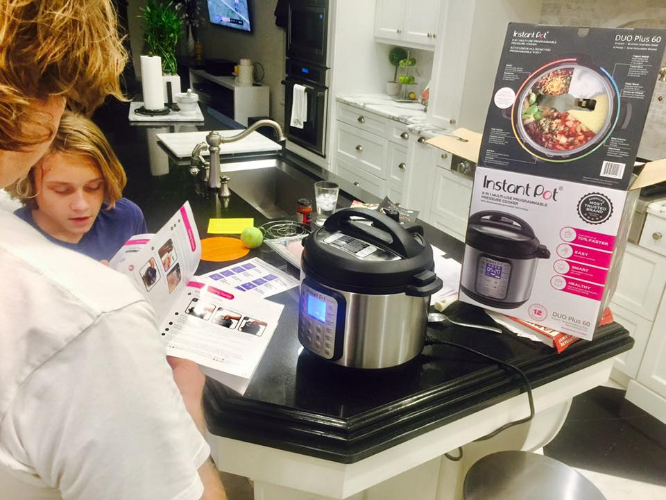 learning to use the instant pot