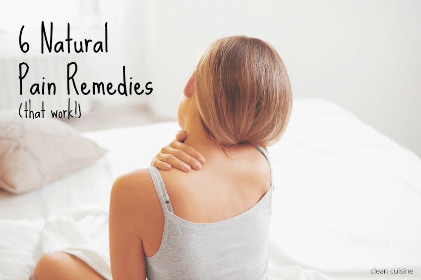 6 natural pain relievers