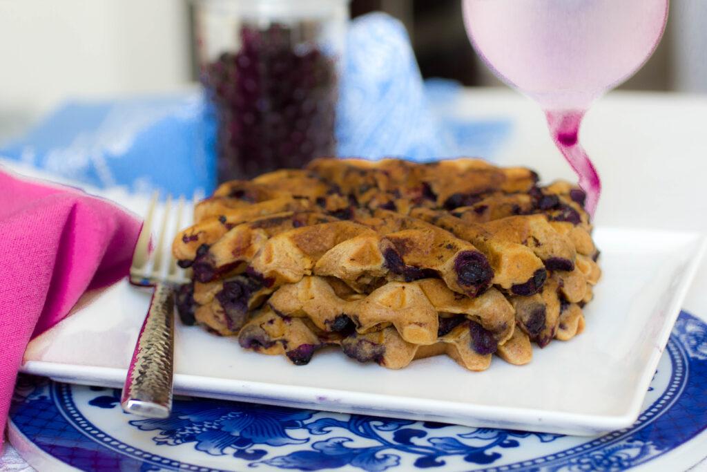 best gluten free blueberry waffle recipe