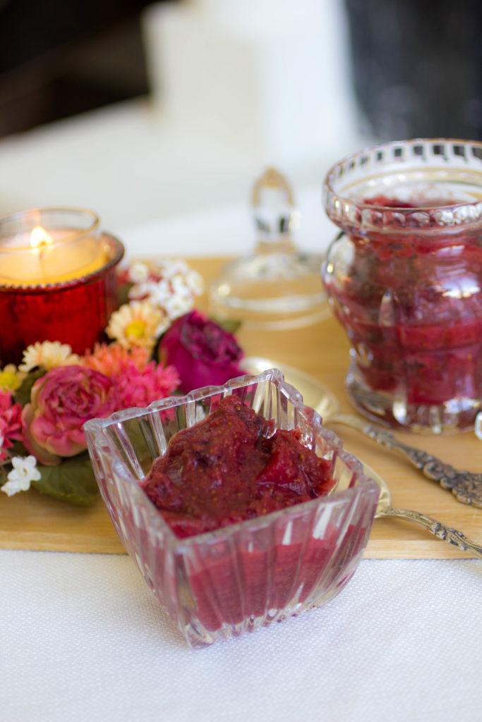 clean cranberry apple sauce recipe
