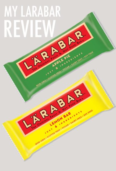 Health Product Review: LARABAR, a Healthy and Clean Snack and Energy Bar