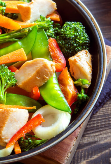 20-Minute Curried Chicken Stir-Fry
